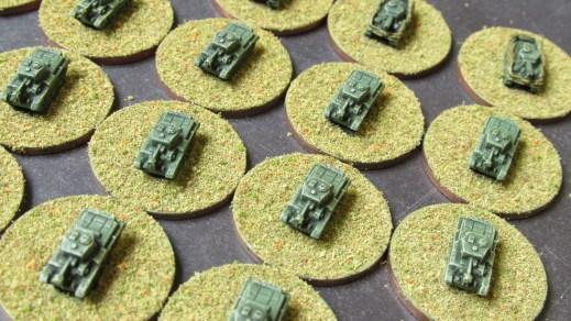 Tank closeup