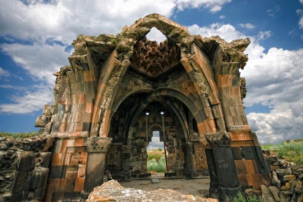 Thousand year old Armenian church in Ani.