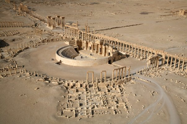 A view of Palmyra in 2009, before the ancient city was seized by Islamic State militants. (Christophe Charon / AFP/Getty Images)