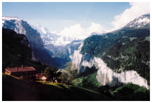 Ascending the Jungfrau