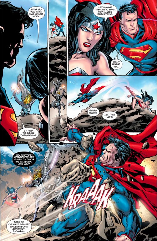 Superman And Wonder Woman VS Dichara